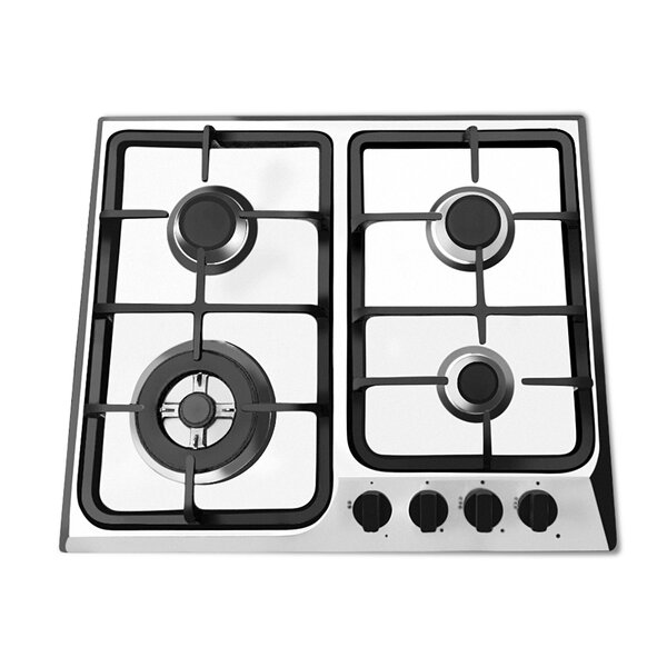 24 Gas Cooktop with 4 Burners by Ancona