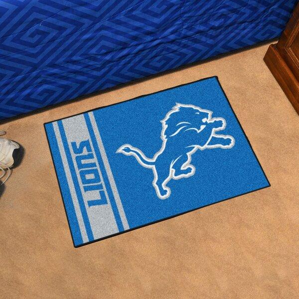 NFL - Detroit Lions Starter Doormat by FANMATS