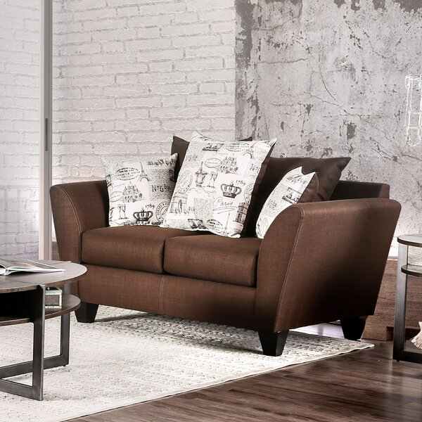 Griffin Contemporary Loveseat by Latitude Run