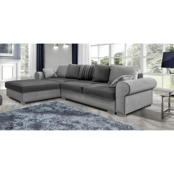 Review Carole Reversible Sleeper Sectional