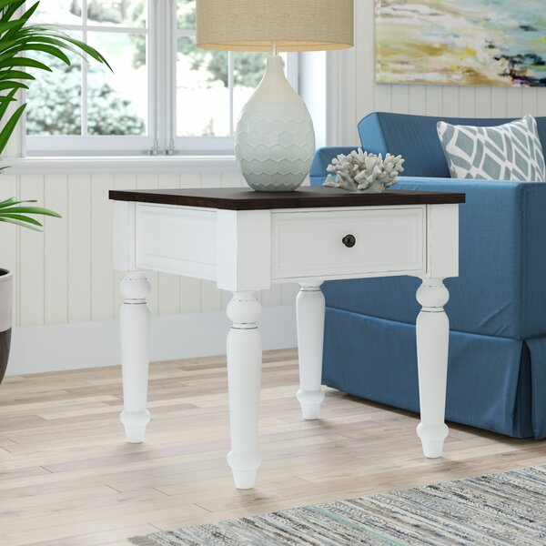 Hanford End Table by Beachcrest Home Beachcrest Home