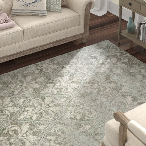 Angelique Neutral Gray Area Rug by Lark Manor
