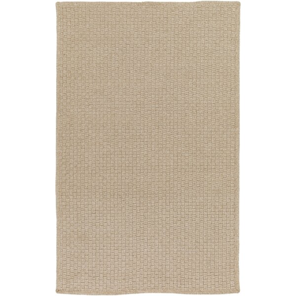 Myrtle Hand-Woven Beige Indoor/Outdoor Area Rug by August Grove