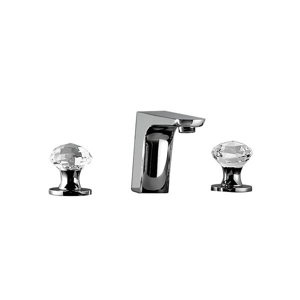 Rock Widespread Bathroom Faucet with Drain Assembly