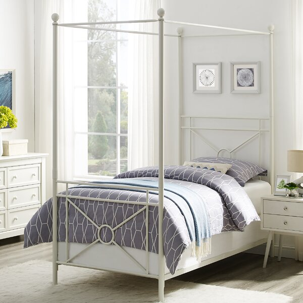 Berkey Canopy Bed by Winston Porter