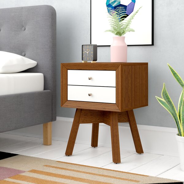 Peabody 2 Drawer Nightstand by Langley Street