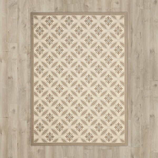 Beasley Brown/Tan Indoor/Outdoor Area Rug by Astoria Grand