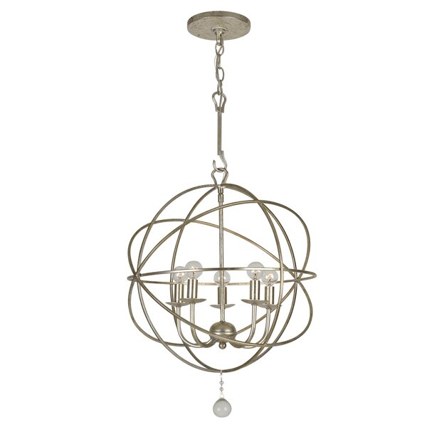 Rodrigues 5 - Light Candle Style Globe Chandelier By Willa Arlo Interiors