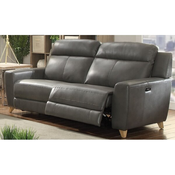 Modern Collection Guillermo Reclining Sofa by Orren Ellis by Orren Ellis