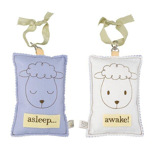 Sheep Asleep / Awake Sign by Tree by Kerri Lee