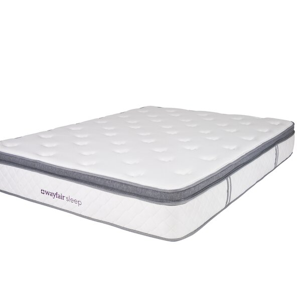 Wayfair Sleep 11 Plush Pillow Top Innerspring Mattress by Wayfair Sleep™