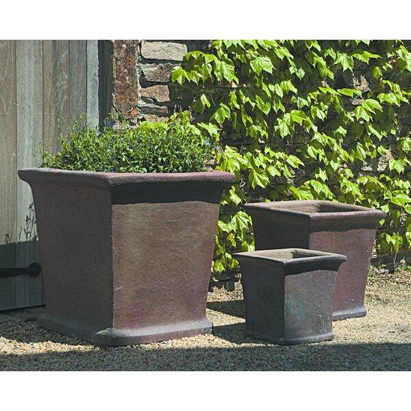 Introcaso 3-Piece Terracotta Pot Planter Set by Red Barrel Studio