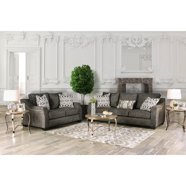 Landrum Configurable Living Room Set by Everly Quinn