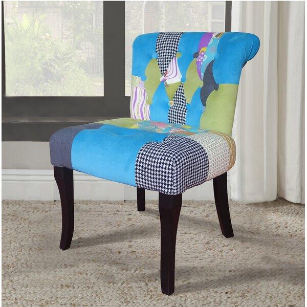 Rockefeller Slipper Chair by Ebern Designs