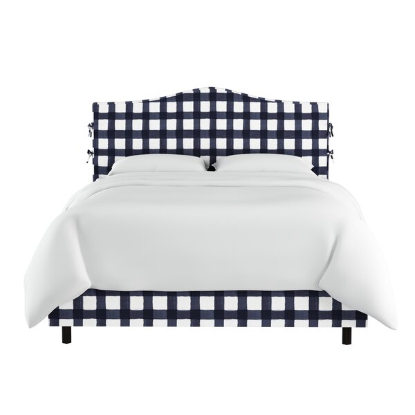 Trina Linen Upholstered Standard Bed by Laurel Foundry Modern Farmhouse