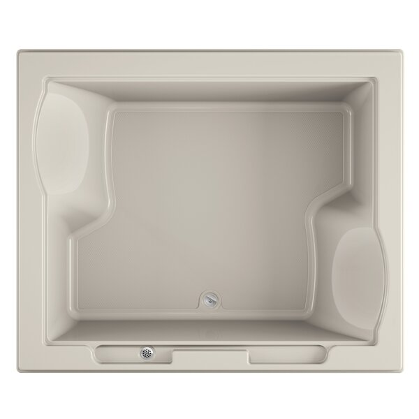 Fuzion 72 x 60 Drop-In Soaking Bathtub by Jacuzzi®