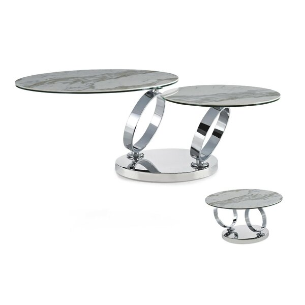 Downie Extendable Coffee Table By Orren Ellis
