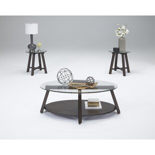 Esteban 3 Piece Coffee Table Set by Latitude Run