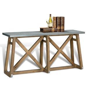 Sleigh Console Table by Sarreid Ltd