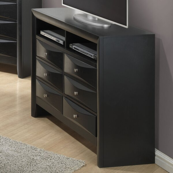 Medford 6 Drawer Media Chest by Latitude Run