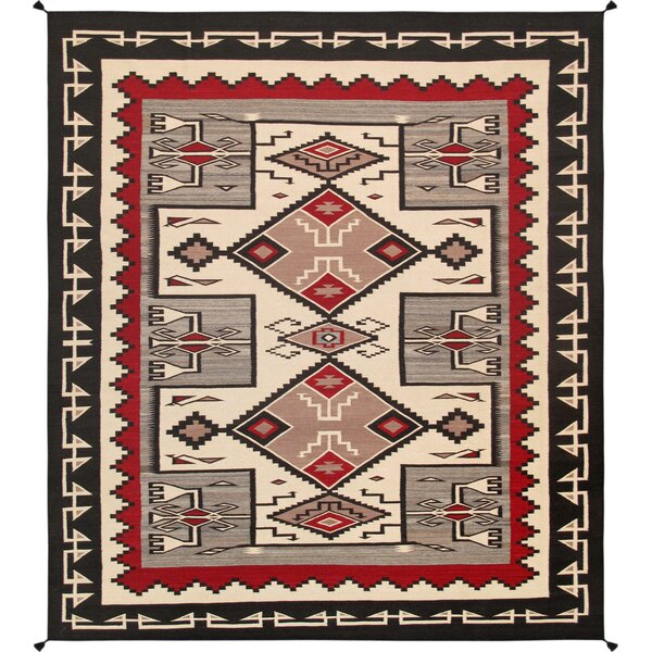 Kilim Hand-Woven Wool Area Rug by Pasargad