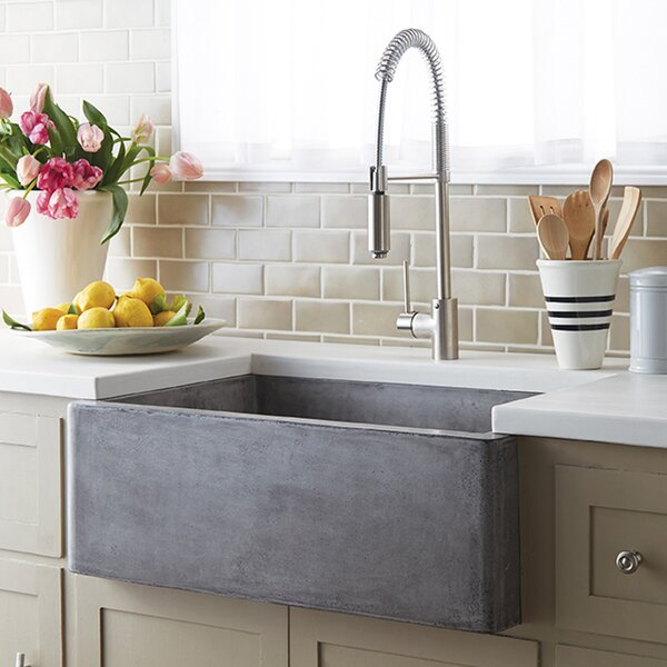 30 L x 18 W Farmhouse Kitchen Sink by Native Trails, Inc.