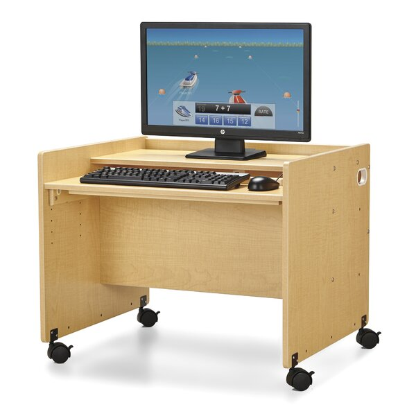 MapleWave Wood 24 Student Computer Desk by Jonti-Craft