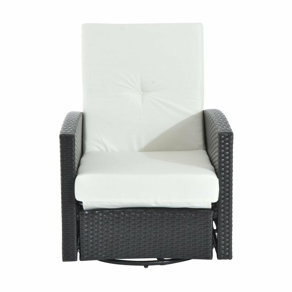 Cryal Patio Chair with Cushion by Latitude Run