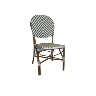 Cade French Café Stacking Patio Dining Chair