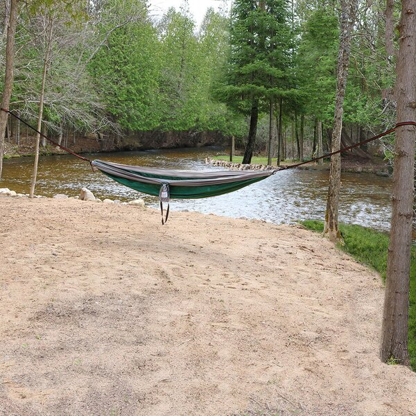 Freeport Park Vanesa Portable Double Camping Hammock & Reviews by Freeport Park
