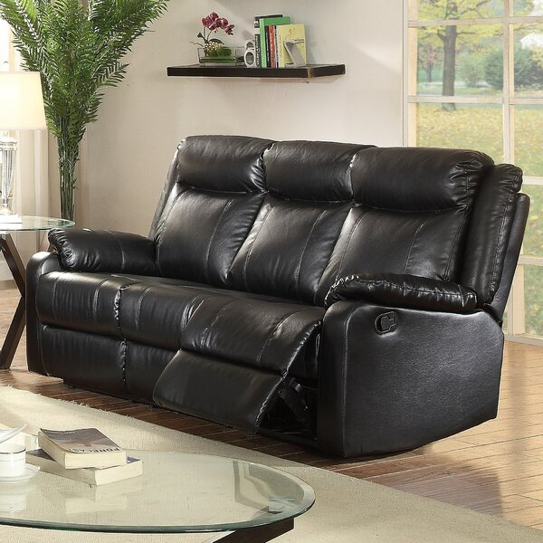 Excellent Reviews Weitzman Reclining Sofa by Red Barrel Studio by Red Barrel Studio