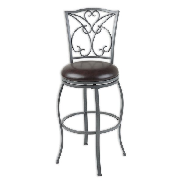 Columbia 30 Swivel Bar Stool by Fashion Bed Group