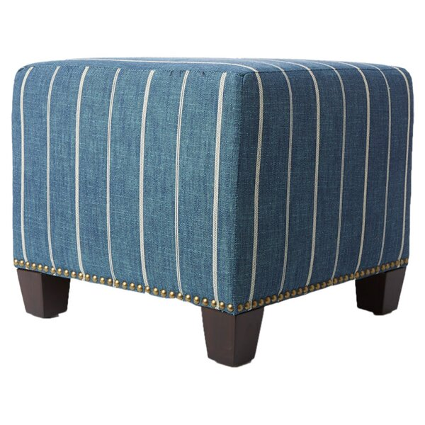 Parker Cube Ottoman by Skyline Furniture