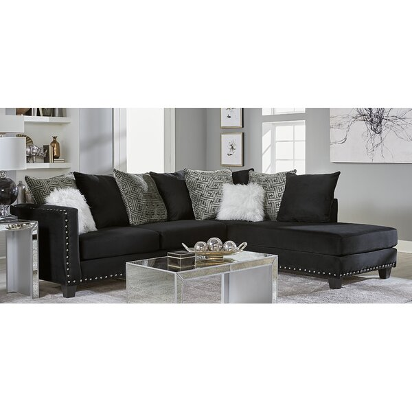 Mcqueary Right Hand Facing Sectional by House of Hampton House of Hampton