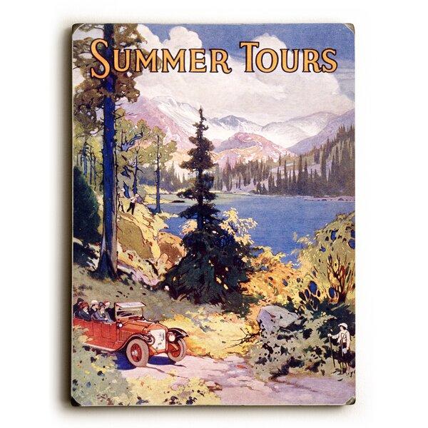 Summer Tours Union Pacific Railroad Vintage Advertisement by Artehouse LLC