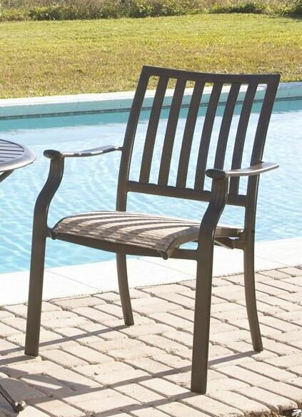 Island Breeze Stacking Patio Dining Chair by Panama Jack Outdoor