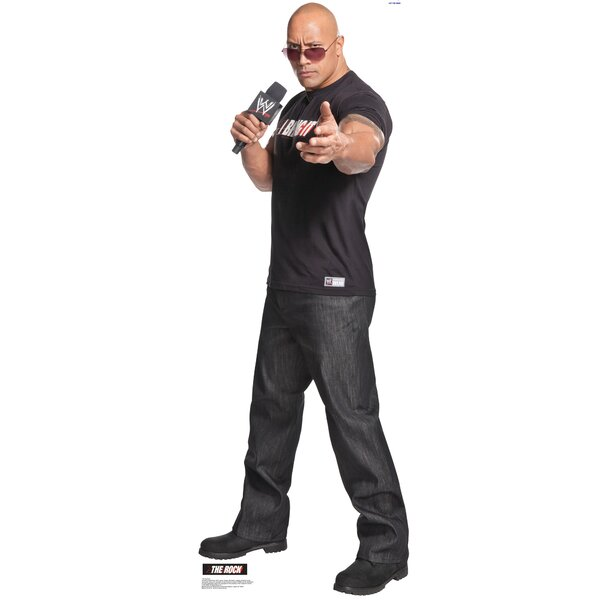 The Rock - WWE Cardboard Standup by Advanced Graphics