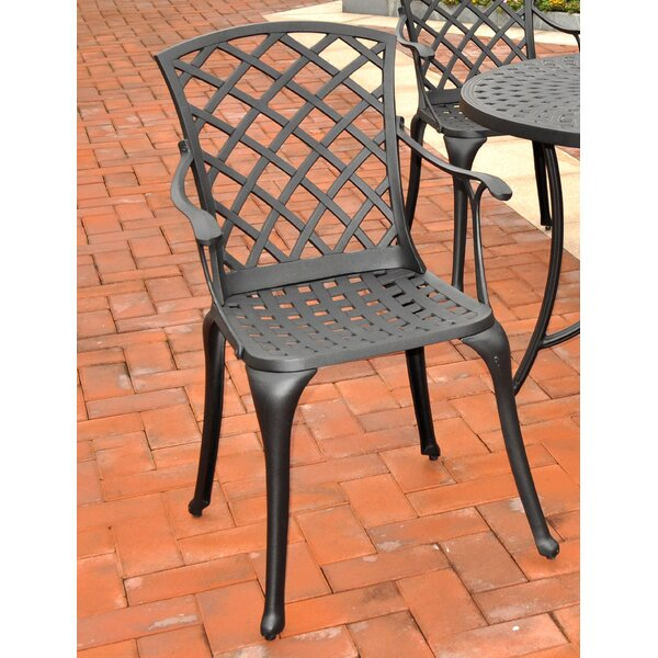 Lomax Patio Dining Chair (Set of 2) by Darby Home Co