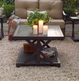 Bungalow Porcelain Side Table by Paula Deen Home