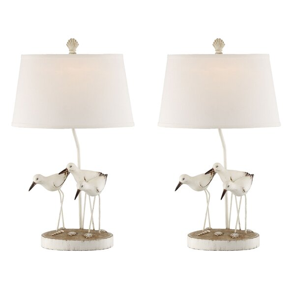 Margaux Trio Shore Birds 29 Table Lamp (Set of 2) by Highland Dunes