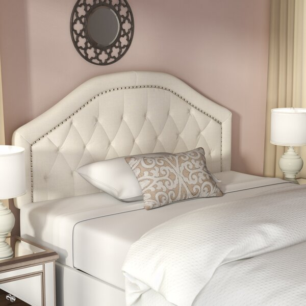 Bridges Upholstered Panel Headboard by Willa Arlo