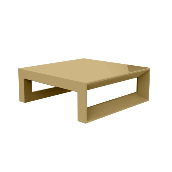 Frame Sun Plastic Coffee Table by Vondom