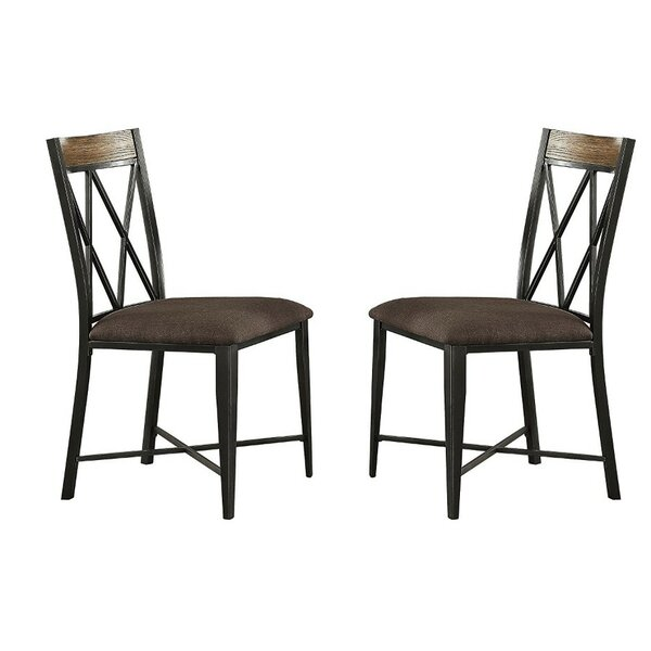 Isom Upholstered Dining Chair (Set of 2) by Charlton Home