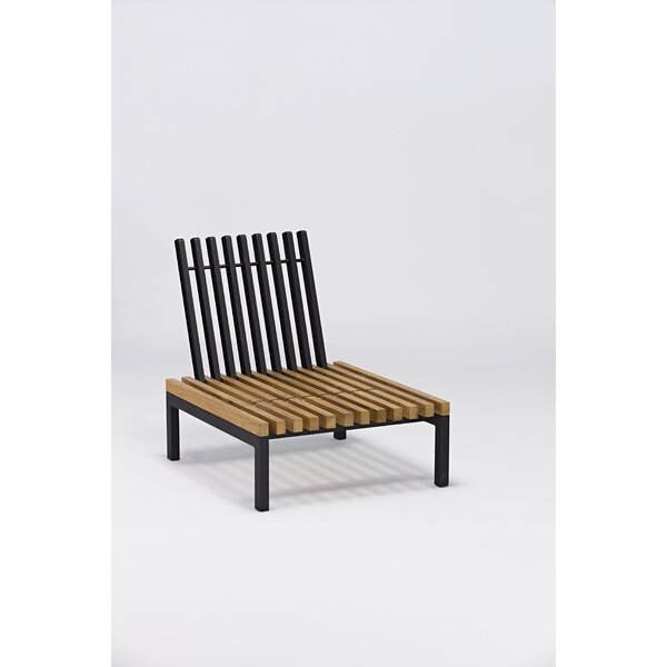 Elian Patio Chair with Cushion by Longshore Tides