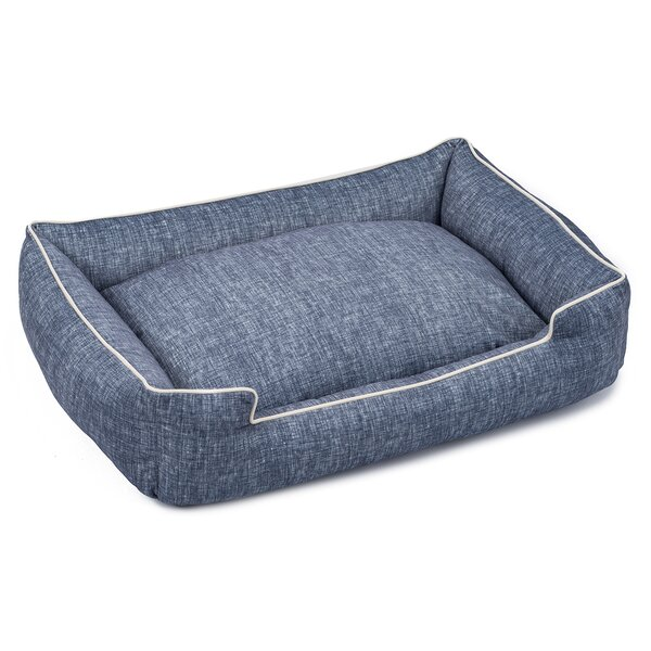 Plush Velour Lounge Dog Bed by Jax & Bones