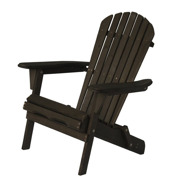 Wood Folding Adirondack Chair by Best Desu Inc. Best Desu Inc.