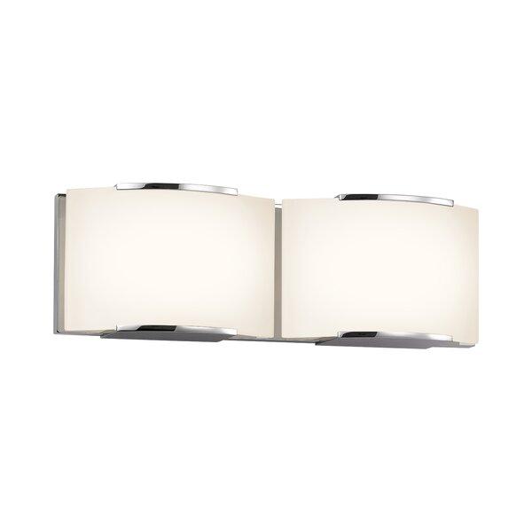 Vargas 2-Light Bath Bar by Orren Ellis