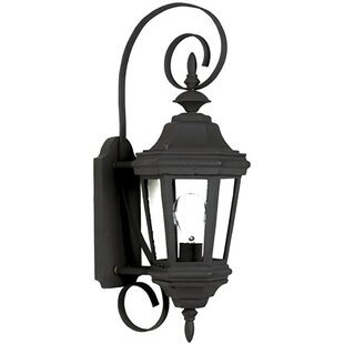 Read Reviews Estate 1-Light Outdoor Sconce By Wildon Home ®
