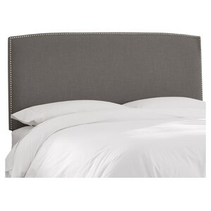 Mara Linen Upholstered Headboard by Skyline Furniture