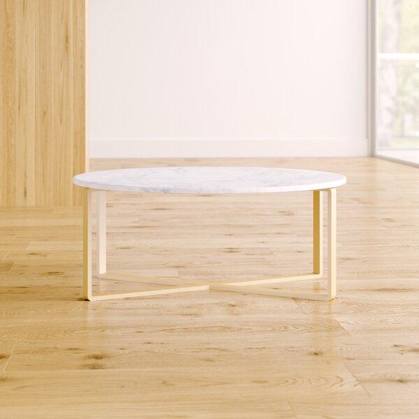 Orian Marble Coffee Table By Orren Ellis